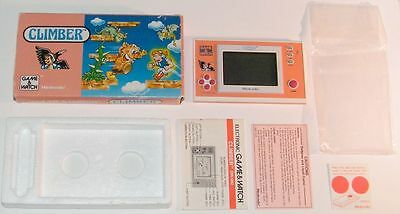 NINTENDO GAME & WATCH - CLIMBER - New Wide Screen 1988 - BOXED -