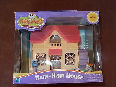 HAMTARO Little Hamsters HAM-HAM HOUSE Playhouse SET SEALED RARE