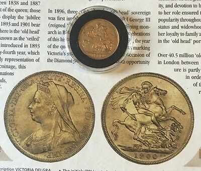 "Queen Victoria ""Old Head"" Sovereign 1900"