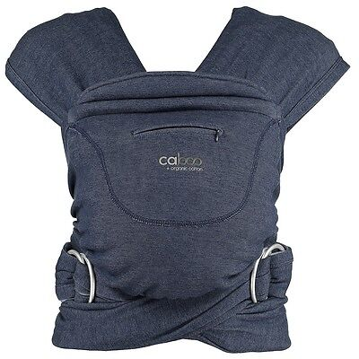 Close Caboo + Carrier In Denim Marl Bargain £45 Unused Instructions Boxed