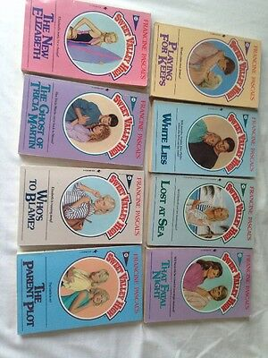 Vintage sweet valley high 8x book bundle Francine Pascal