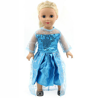 "Fits 18"" American Girl Madame Alexander Handmade Doll Clothes dress MG083"