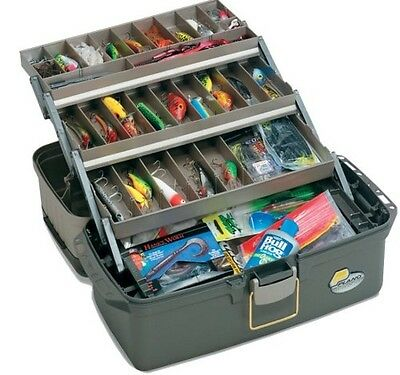 Fishing Tackle Box Lures Lines Hooks Bait Fish Case Fishing Accessories Tool New