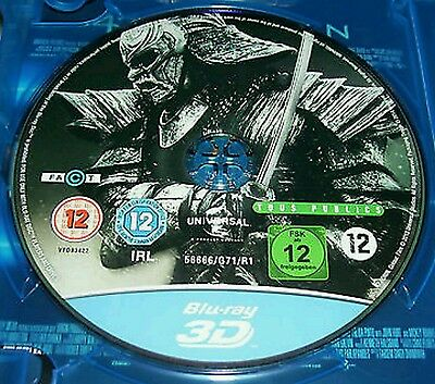 47 Ronin ( 3d Blu ray) 3D Versions of the Movie. Region Free.