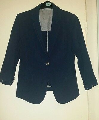 Womens blue jacket size 10 from new look