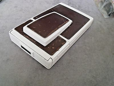 VINTAGE POLAROID SX-70-2  LAND CAMERA GOOD CONDITION EXCEPT LEATHER 1970s works