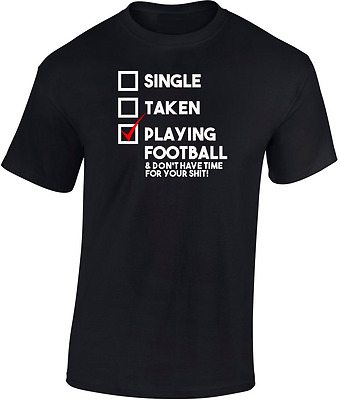 Playing Football T shirt New  Funny Gift