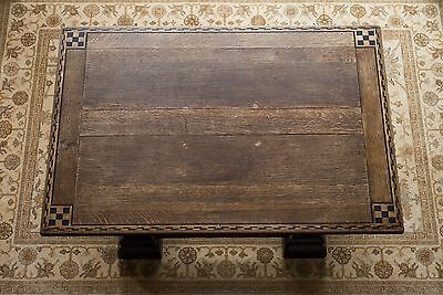 ANTIQUE / PERIOD DINING CENTRE TABLE with INLAID MARQUETRY