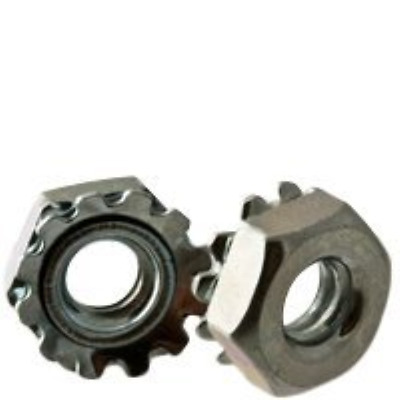 #8-32 LOCKNUTS EXTERNAL TOOTH KEPS ZINC CR+3, Size: #8-32, Length:, Material: