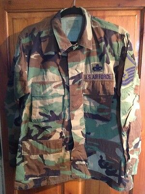 M81 Woodland Camouflage Jacket Army Airforce Bdu