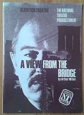 A View From The Bridge programme National Theatre at the Aldwych Dec 1987 ed.