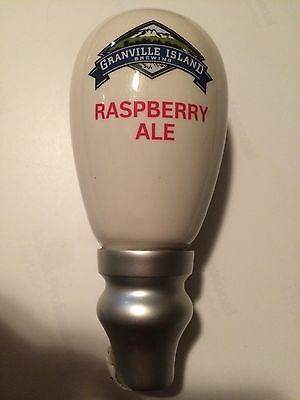 Granville Islands Raspberry Ale Rare Tap Handle Beer Keg Pull NEW