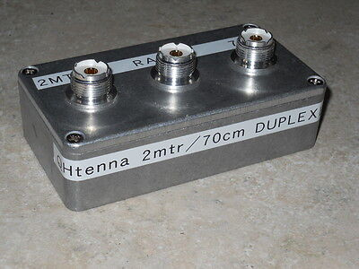 2mtr/70cm duplexer for IC706/FT857/FT991/IC7000/FT817 and others VHF/UHF radios