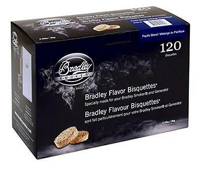 Bradley Fumatore BTPB 120 Pacifico Miscela Bisquettes 120-Pack - NUOVO
