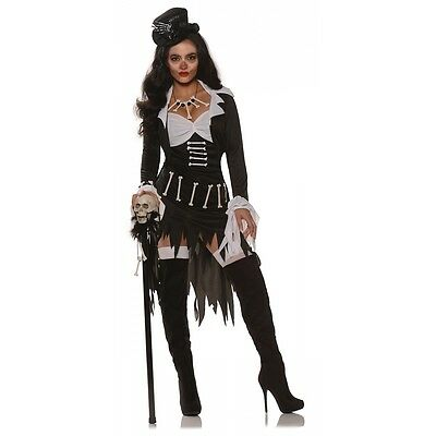 Voodoo Costume Adult Witch Doctor Halloween Fancy Dress
