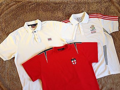 3 X Men's England Tops Size Large