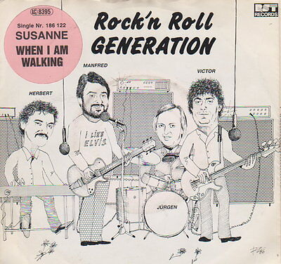 Rock'n Roll Generation  ‎– Susanne   - 45 RpM Vinyl Single - Austropop
