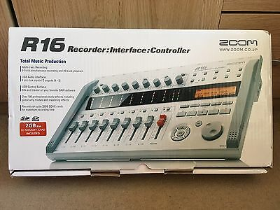 Zoom R16 Recorder: Interface: Controller - New Condition