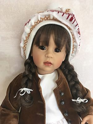 Kristine A Limited Edition Doll By Artist Sissel Bjorstad Skille