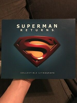Superman Returns Lithograph
