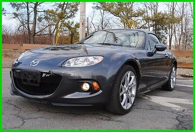 2014 Mazda MX-5 Miata Grand Touring AT Automatic Hard Top Convertible Repairable Rebuildable Salvage Wrecked Runs Drives EZ Project Needs Fix Save Big