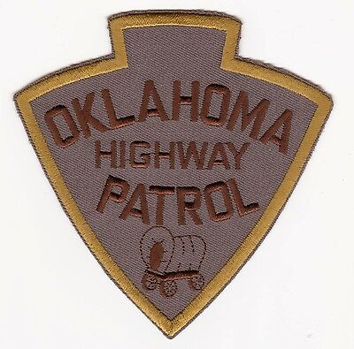 Oklahoma Highway Patrol Police Patch Never Used Clean Free Shipping