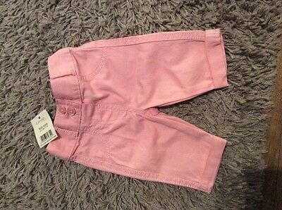 baby girl trousers first size - up to 9lbs