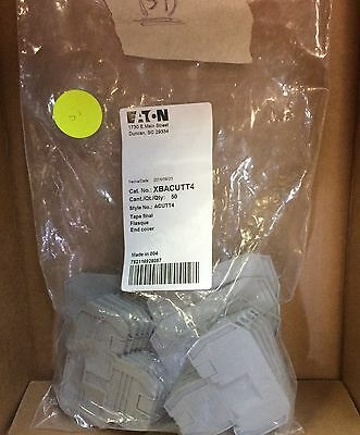 Nib  Xbacutt4 End Cover For Double Level Terminal Block Pckg Of 31 F1-3
