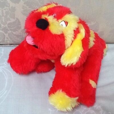 "Tweenies Plush 9"" Doodles The Red Dog"
