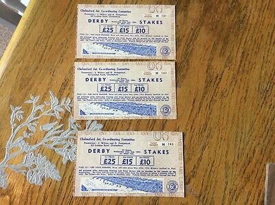 Derby Epsom horse race tickets