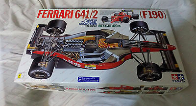 TAMIYA 1/12 F1 Ferrari 641/2 F190 KIT 12027 with Studio 27 Decals DC611C