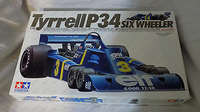 TAMIYA 1/12 TYRRELL P34 Six Wheeler F1 12021 Model Car Mountain KIT 1221