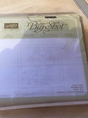 Sizzix stampin up Snowflakes Die Cutter  (retired)