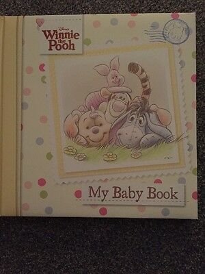 Disney Winnie the Pooh Baby Record Book by Parragon Book Service Ltd (Hardback,…