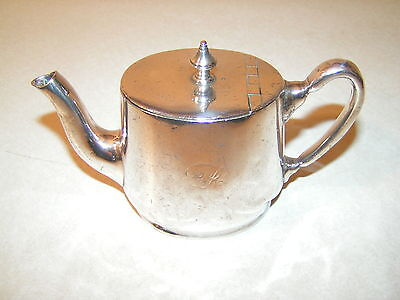 Canadian Pacific Railroad Silver Plated Tea Pot
