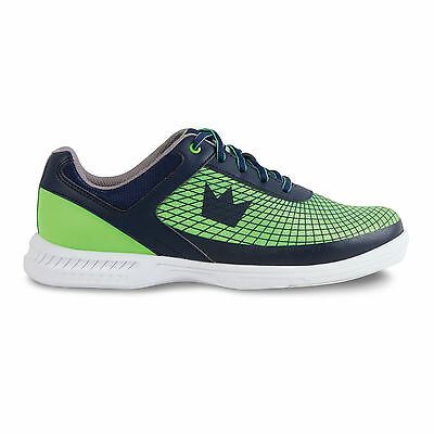 Mens Brunswick FRENZY Bowling Shoes Color Navy & Green Sizes 7 - 13
