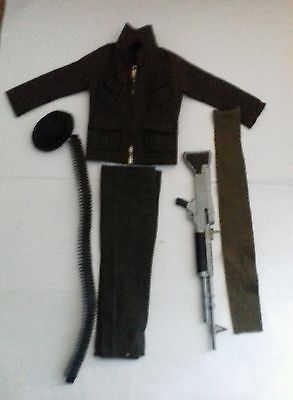 Vintage action man commando part uniform lot