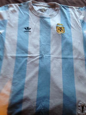 ARGENTINA Adidas Originals Retro Football Shirt
