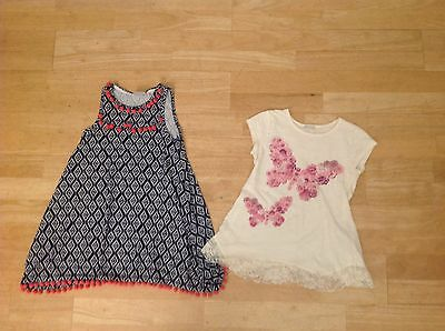 Girls 2 Summer Tops . Age 9-10 Years