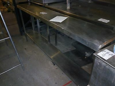 commercial kitchen bench shelf stainless steel