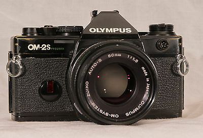 Olymups om-2Spot program / suiko auto-s 50mm 1.8 lens & great working condition