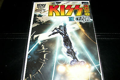 Kiss IDW comic> KISS Solo-The Celestial, issue # 3