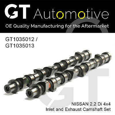 CAMSHAFT FOR NISSAN INLET EXHAUST SET 2.2 Di 4x4 YD22ETI  YD25ETI