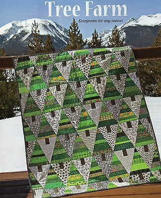 Tree Farm Quilt Pattern Pieced/Applique TC