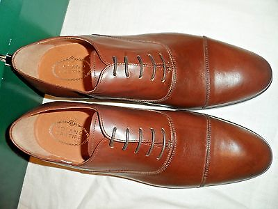 Roland Cartier Mens   Brown  Leather  Shoes  Size's 6 / 7 / 8 / /9/10 / 11
