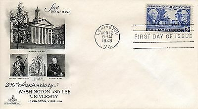 US FDC #982 Washington & Lee University, ArtCraft (6198)