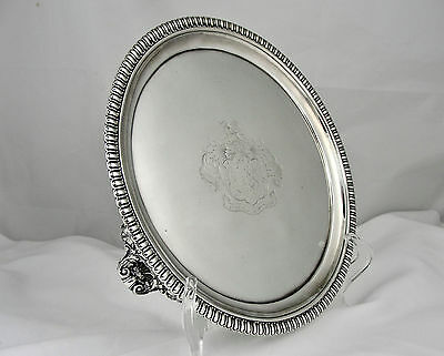 An Early George Iv Sterling Silver Salver, Paul Storr