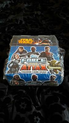STAR WARS FORCE ATTAX SERIES 4 TRADING CARDS  BOX sealed inc 24 packets