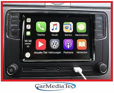Original VW Radio Freisprechanlage Apple CarPlay RCD330  Caddy Scirocco Touran