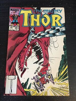 Mighty Thor#361 Awesome Condition 8.0(1985) Simonson Art!!